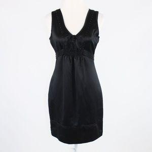 Black BCBGIRLS empire waist dress S